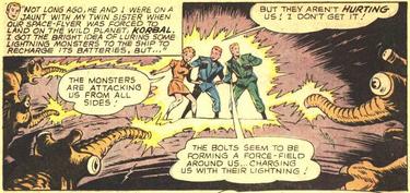 Lightning Lad Origin (Superboy 147)