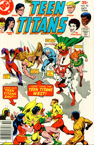 Cover Page (TeenTitans, 50)