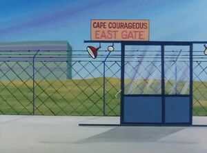 Cape Courageous East Gate (01x08 - The Androids)