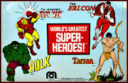 World's Greatest Super-Heroes - Marvel Characters