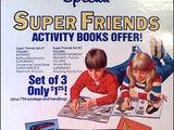 Super Friends books