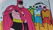 Multi-colored Batsuits