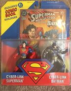 Cyber-Link Superman and Cyber-Link Batman (comic book)