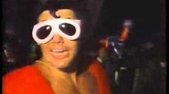 Plastic Man at the 1980 DNC
