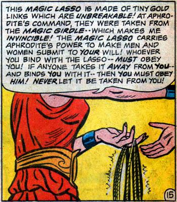 Magic Lasso (Wonder Woman 159)