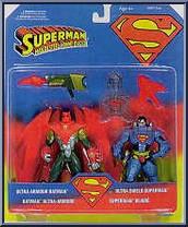 Ultra Shield Superman and Ultra Armor Batman