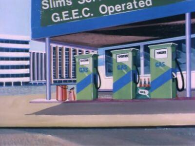 Slim Smith' Garage (01x03 - Professor Goodfellow's G.E.E.C.)