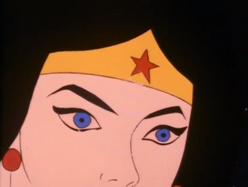 Wonder Woman SF Eyes