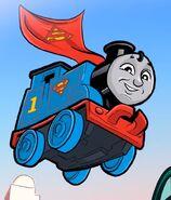 Thomas the Tank Engine as Superman