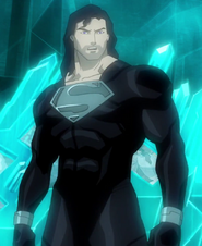 -2019- Superman, Black (DCAMU Superman - Reign of the Supermen)