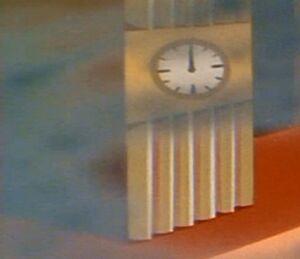 Clock tower Solar Terrarium