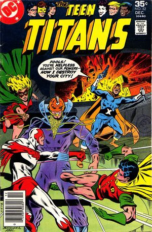 Cover Page (TeenTitans, 52)