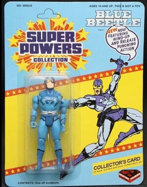 Blue Beetle (Super Powers figure)