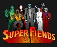 Super Fiends Universal Monsters