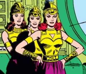 Zamarons -Green Lantern 16 (October 1962)-