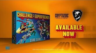 Challenge of the Super Friends Card Game