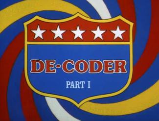 De-Coder, Part 1 (02x2a - Joy Ride)