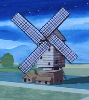 Abandoned Windmill (01x05 - The Shamon 'U')
