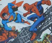 Superman and Spider-Man