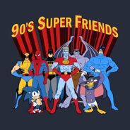 '90s Super Friends