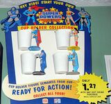 Super Powers cup holders