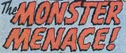 Monster Menace title card (SF 10, 1978)