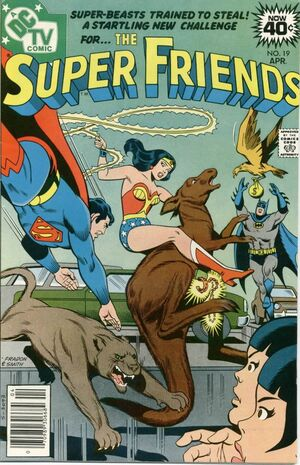 Cover (SuperFriends 19)
