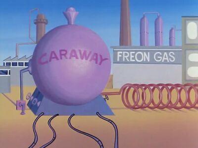 Caraway Energy-Generating Plant (01x05 - Dr. Pelagian's War)