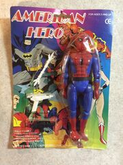 Spider-Man (American Hero figure)