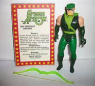 Green Arrow and Card