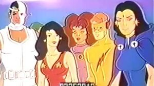 New Teen Titans Anti Drug Commercial Footage 1984
