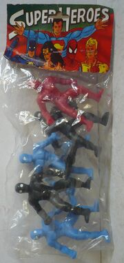 Spider-Man 5 pack (Super Heroes figures)