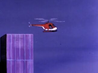 Unidentified Helicopter (01x02 - The Baffles Puzzle)