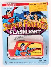 Super Friends Flashlight (Nasta, 1980)