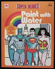 Super Heroes Paint with Water