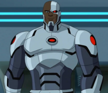 (2015) Cyborg Khary Payton (Batman Unlimited Monster Mayhem)