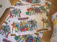 Super Friends fabric