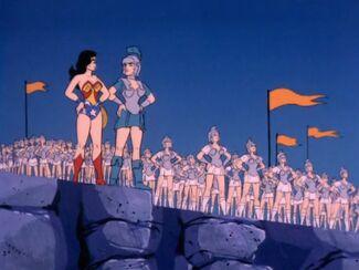 Hippolyta and Her Warriors (05x07c - Return of Atlantis)