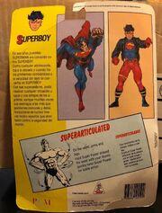 Superboy (Super Powers figure) reverse side