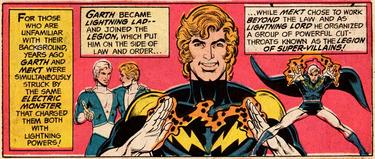 Lightning Lad Origin (Superboy 207)