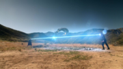 Кара сражается с Ноном