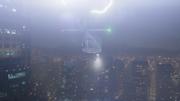 Молния ударяет в вертолет