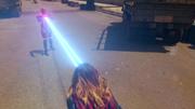 Кара использует тепловидение, чтобы взорвать Красного Торнадо