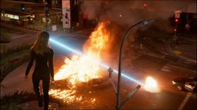 Кара взрывает автомобиль