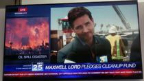 Максвелл Лорд выступает в новостях