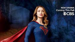Супергёрл. CBS постер