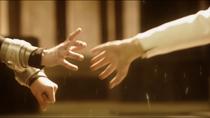 Алекс и Кара протягивают руки друг другу