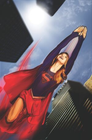 Couverture Adventures of Supergirl