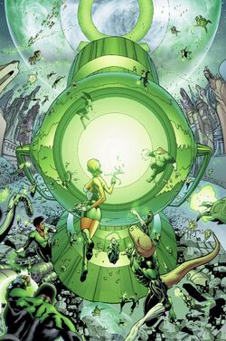Green Lantern Corps Central Power Battery