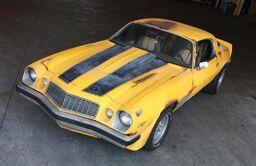 Bumblebee old car